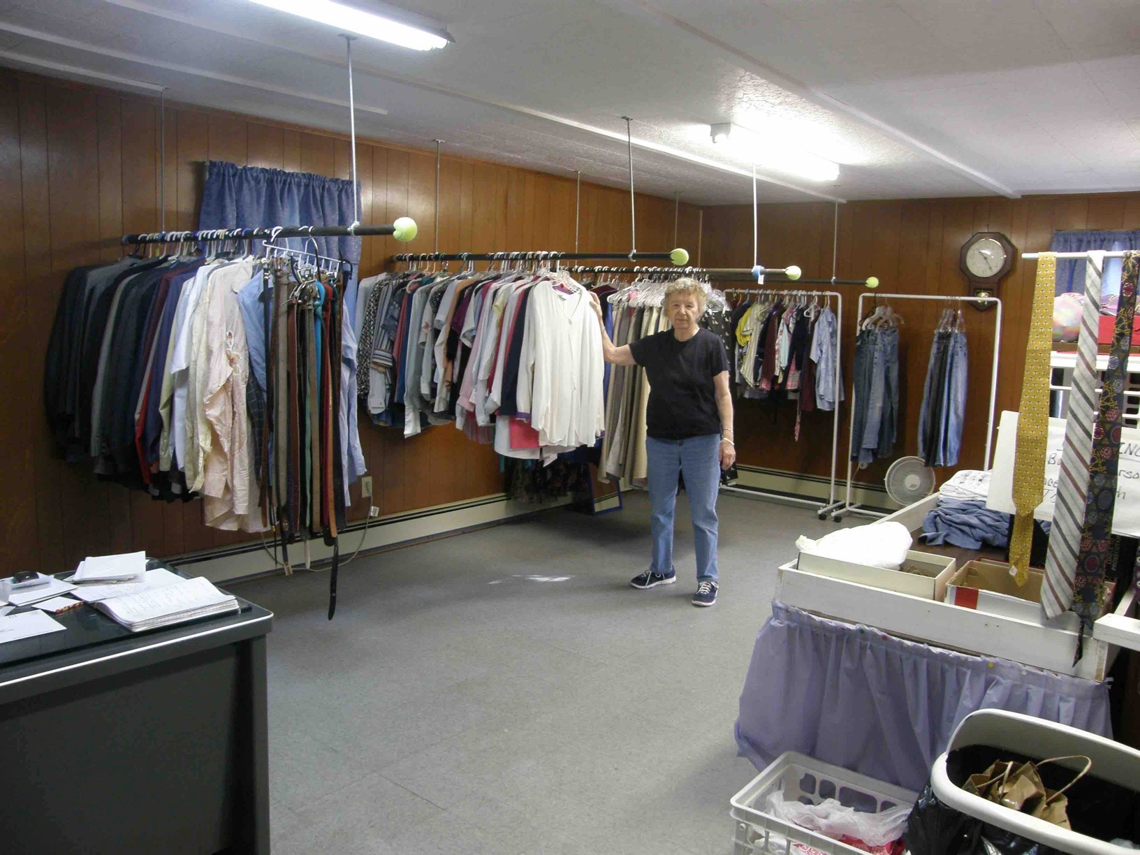 The Clothes Closet Located Upstairs In Our Pantry Building Offers Clothing For Men Women And Children At No Charge